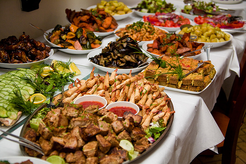 Time to dine another damn wedding mmm food via john silver photographys flickr junglespirit Image collections